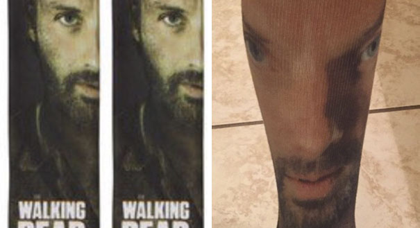 Look At These Amazing Walking Dead Socks