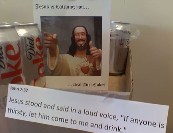 Jesus Is Watching You