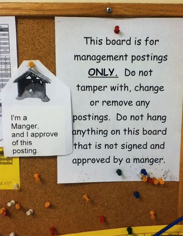 I'm A Manger