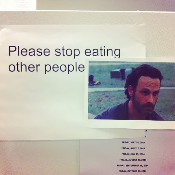 Office Politics: Not Eating Other People Is More Important Than Not Eating Other People's Food