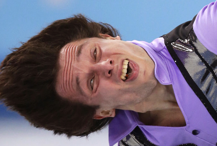 31 Hilarious Olympic Figure Skater Faces That Show Why Cameras Should Be Banned In Some Sports
