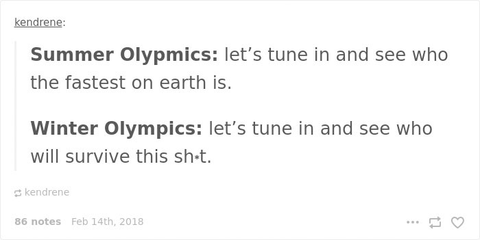 Winter Olympic Post