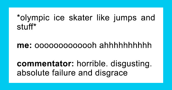 47 Funniest Reactions To The Winter Olympics