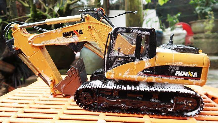 Excavator For Kids | Car Wash Videos | Videos For Children