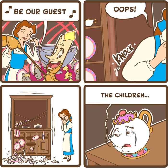 30+ Brutally Hilarious 'Good Bear Comics' For People Who Like Dark Humor