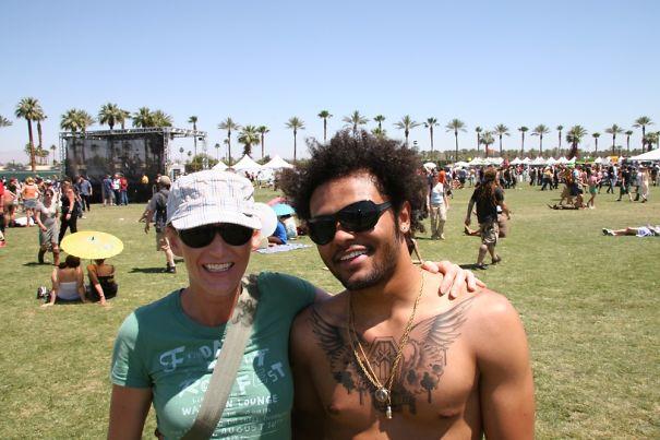 That Time I Thought I Met Lenny Kravitz At Coachella...