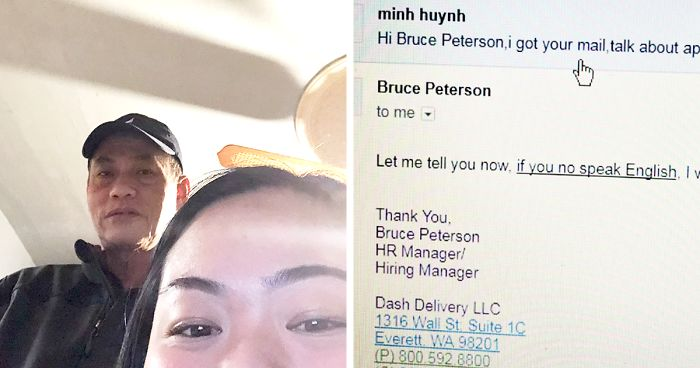 Immigrant Gets Rejected From A Job Application In The Most Rude Way, So His Daughter Made The HR Pay For It