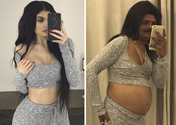 44-Year-Old Engineer From India Is Taking The Internet By Storm With His Celebrity Recreations