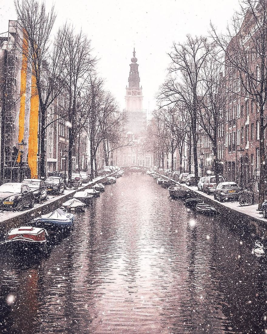 The Snowy Canal