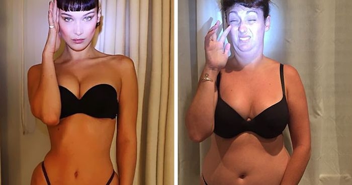7722611214 Woman Continues To Hilariously Recreate Celebrity Instagram Pics ...