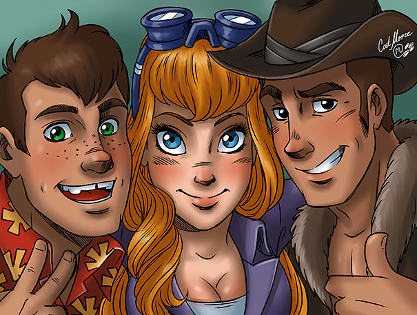 Chip 'N' Dale Humanized