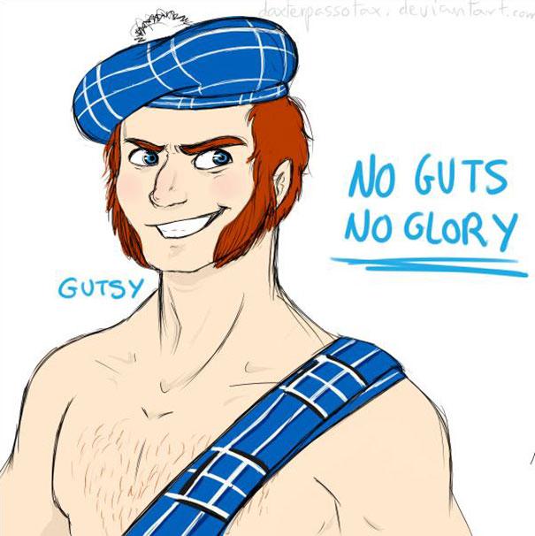 Smurf Gutsy