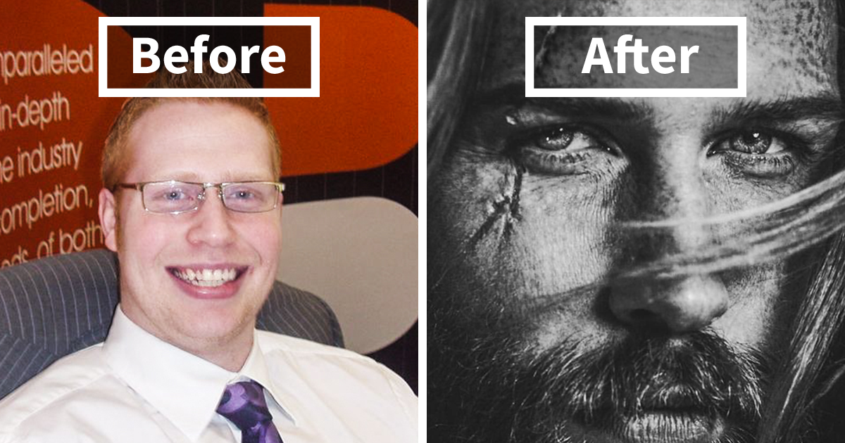 Barber Tells This 'Shy' Insurance Man To Grow A Beard, And It Ends Up Transforming His Life