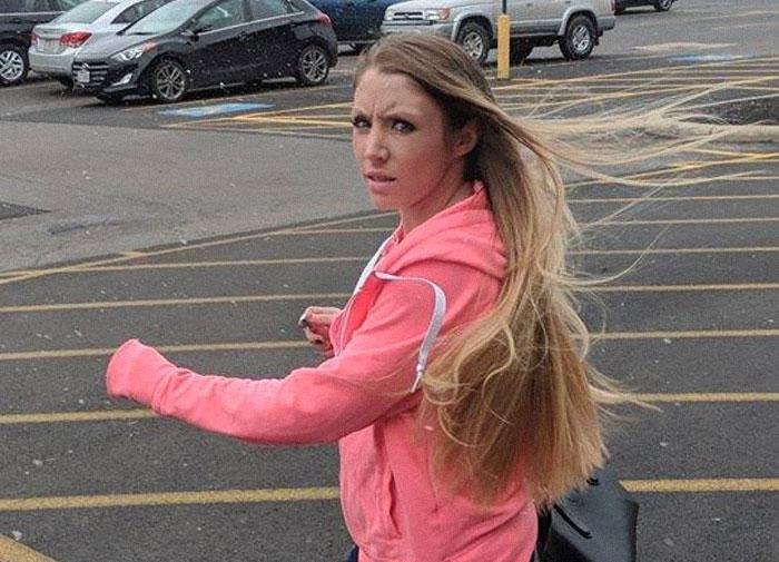 La policía pidió ayuda para identificar a esta ladrona de videoconsolas y acabaron todos de risas