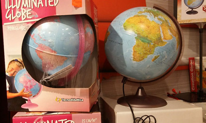 Today In The Unnecessarily Gendered Products: The Earth