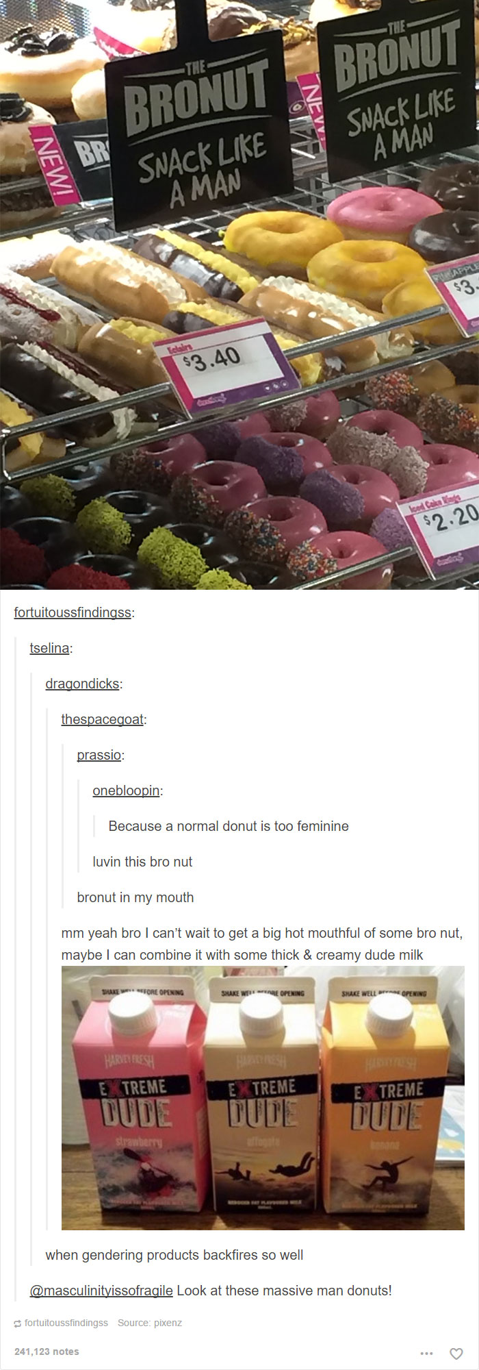 Bronut - Because Snacks Are Such A Girly Thing Usually