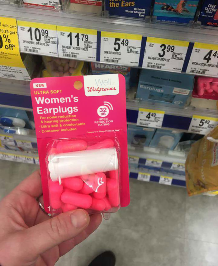 I Tried Women's Earplugs From Walgreens, But I Could Still Hear My Own Sobbing. One Star