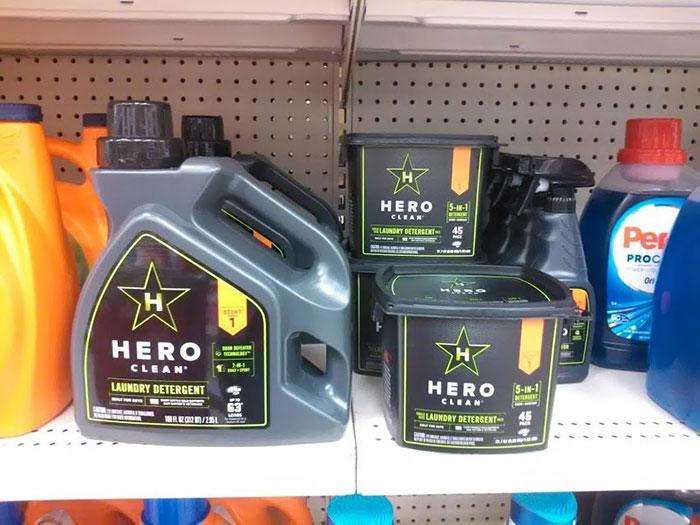 Hero Laundry Detergent At Target. Built For Men