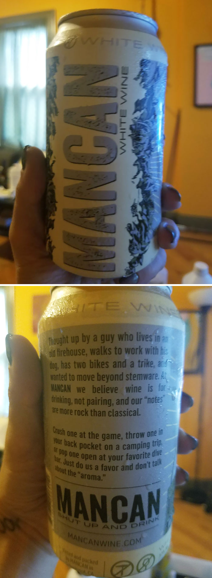 Wine In A Can, For Men