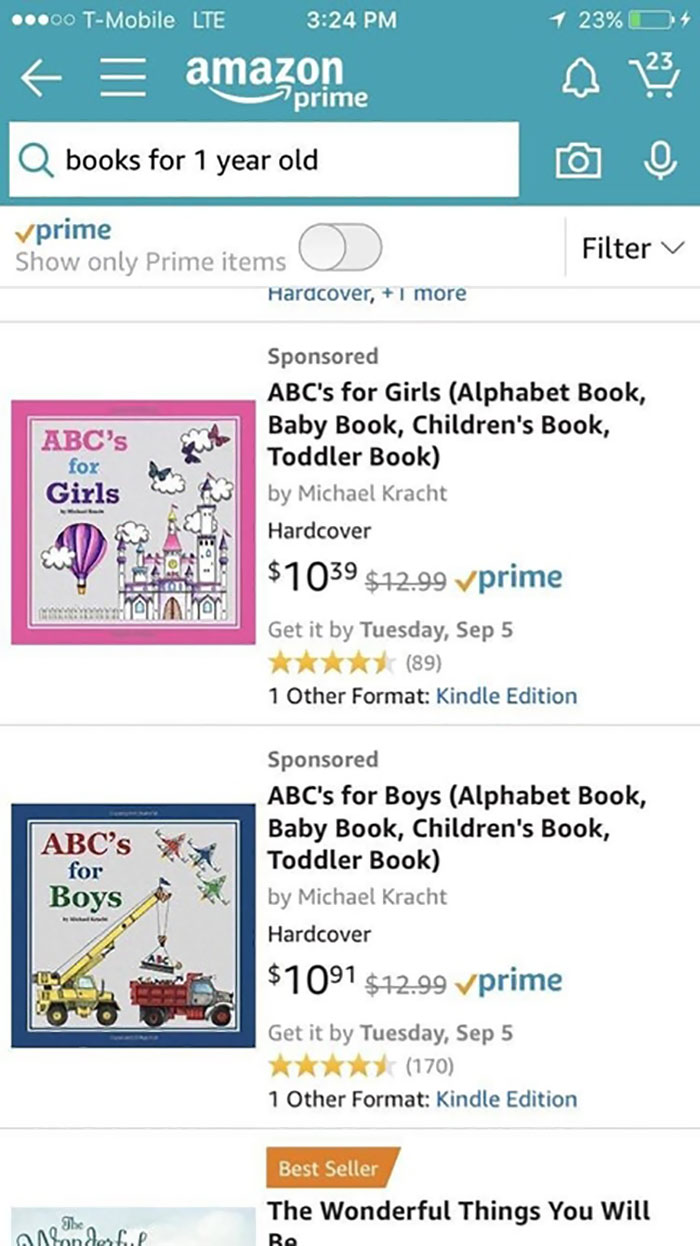 If Your ABC's Weren't Gendered, You Learned Them Wrong