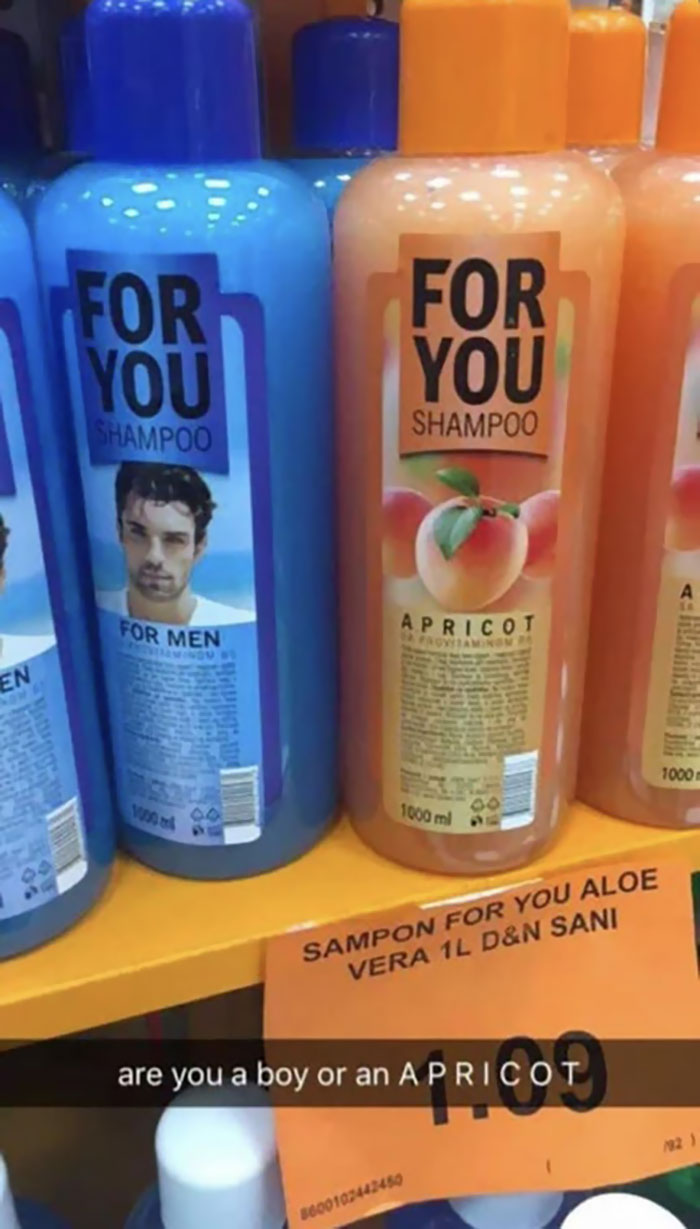 Are You A Boy Or An Apricot