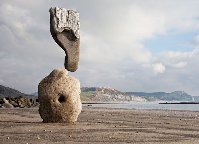Stone Balancing By Adrian Gray