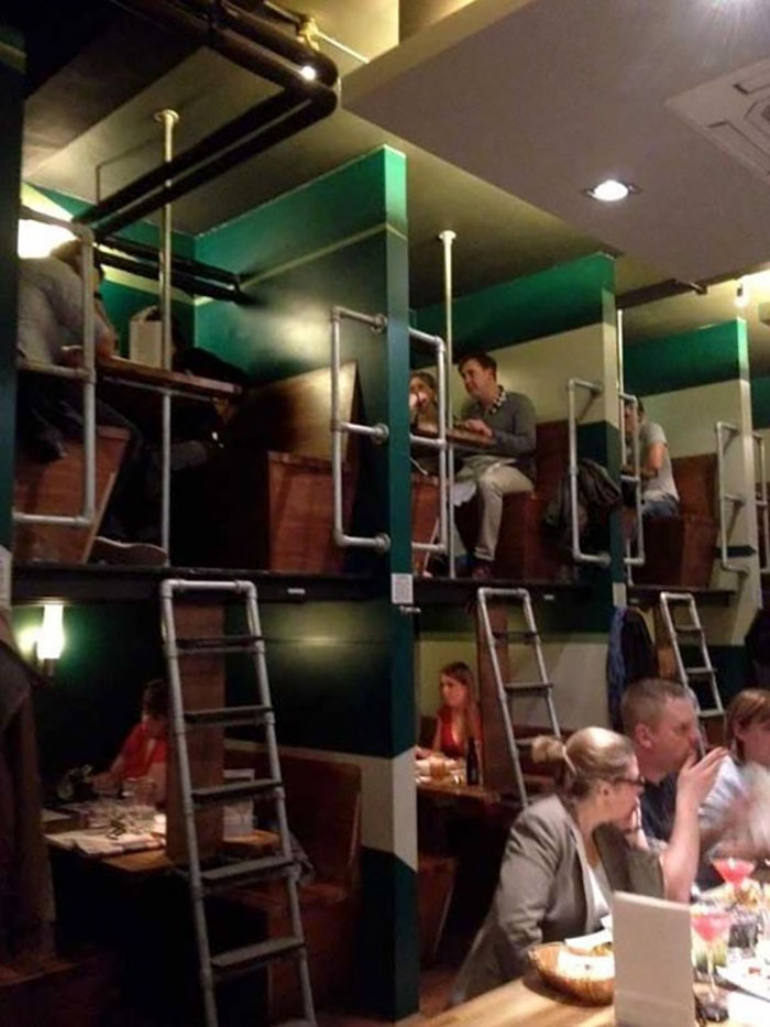 This Restaurant In London (Waiters Love It)