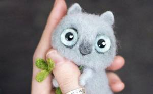 I Create Tiny Adorable Felt Toys