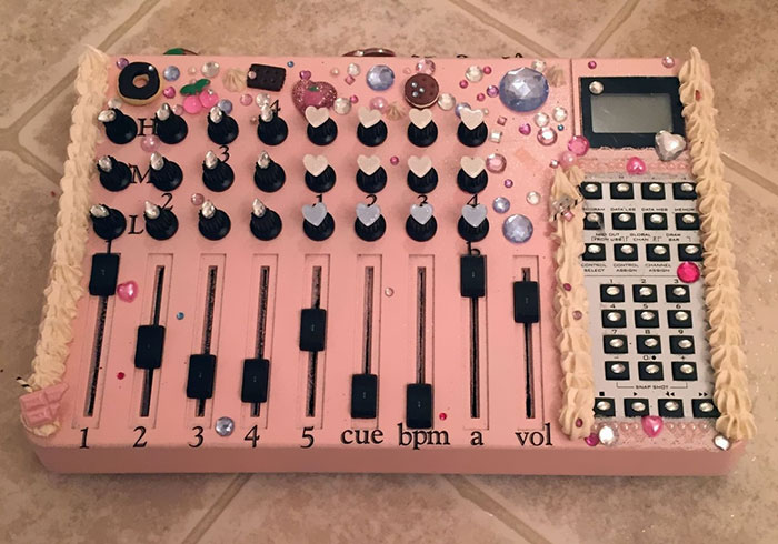 This Bedazzled Midi Control Surface