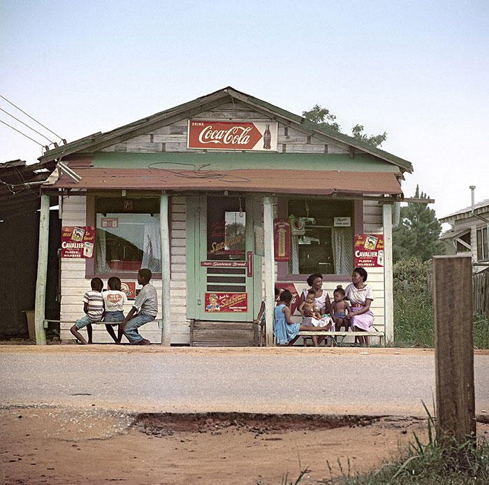 Store Front, Mobile, Alabama, 1956