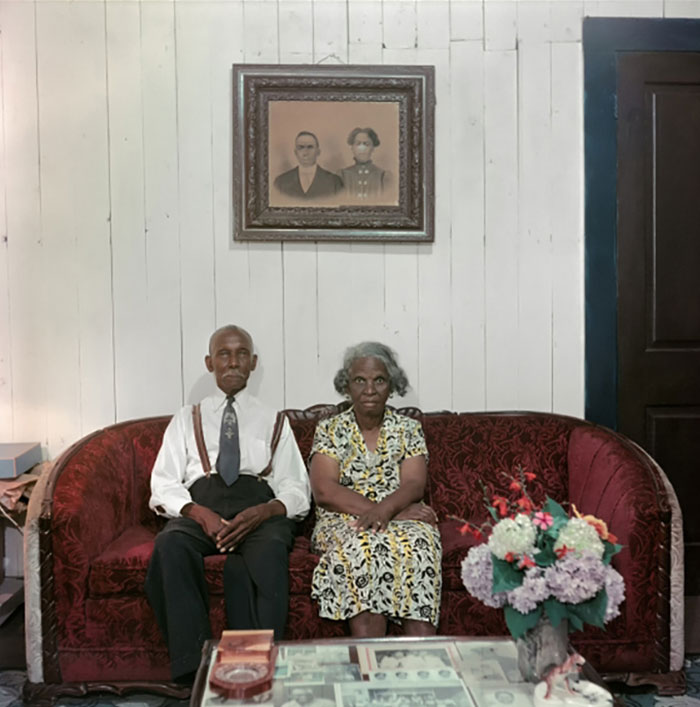 Mr. And Mrs. Albert Thornton. Mobile, Alabama, 1956