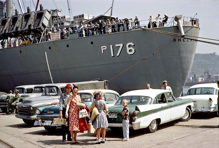 Usns Breckinridge US Navy Ship. 1959