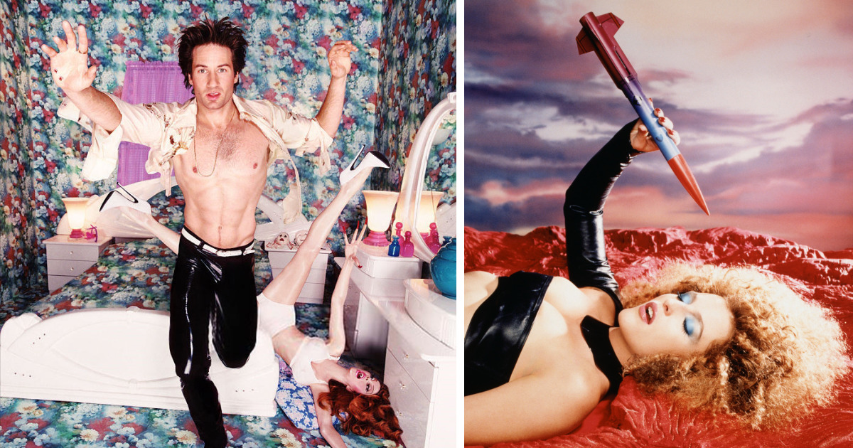 X-Files Photoshoot From The 90's Is Going Viral Again, And It's Super Weird Even For The 2018 Standards
