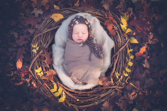 """I Incorporated """"Mandala"""" – The Symbol Of Harmony And Completeness In My Baby Photography."""