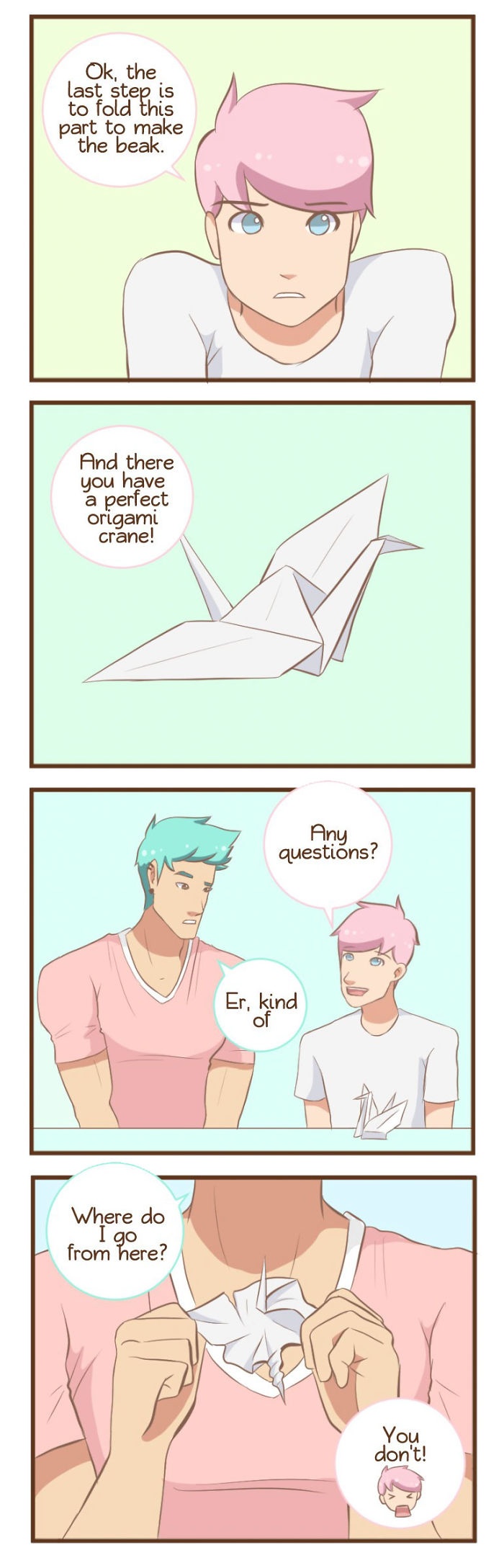 Daily life of a gay couple comics