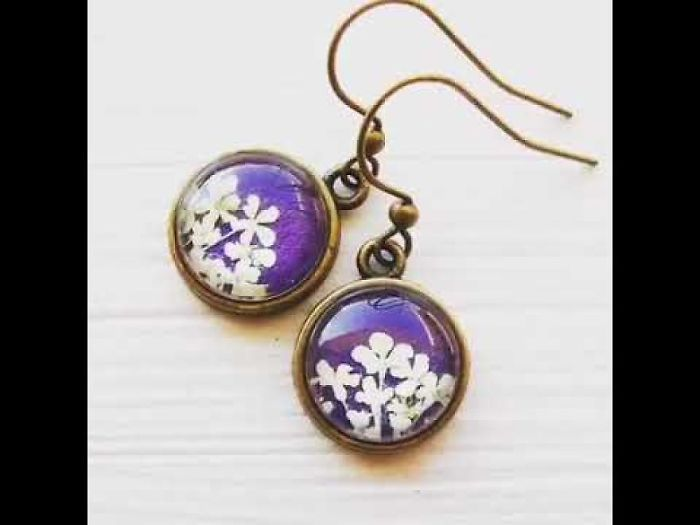 I Create Handmade Botanical Jewelry From Real Pressed Flowers