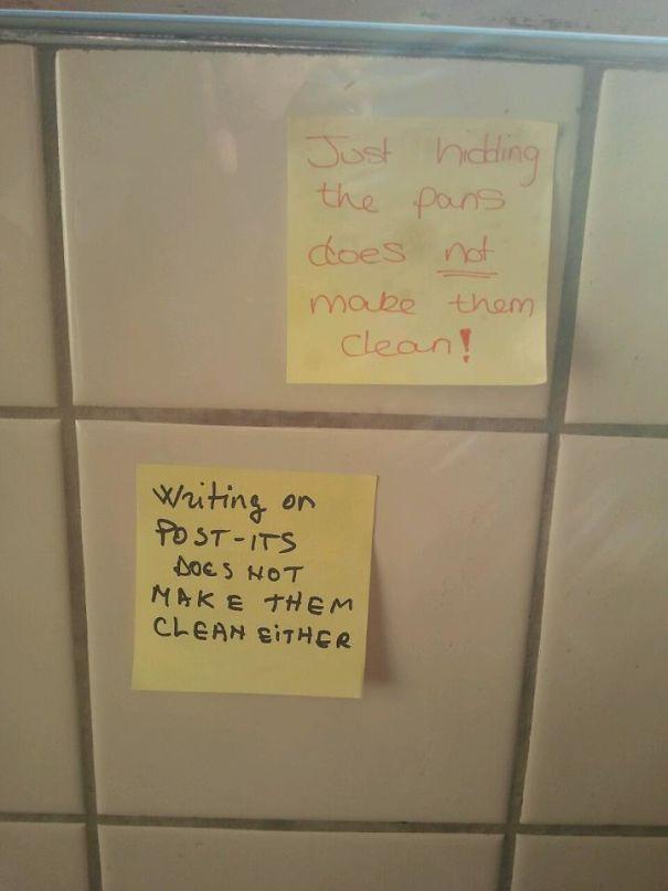 Passive Aggressive Roommates