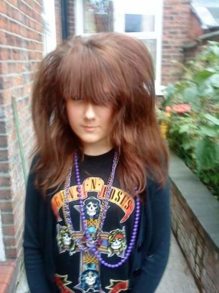 My Mum Advised Me Not To Leave The House Like This, Didn't Listen. That Hair!