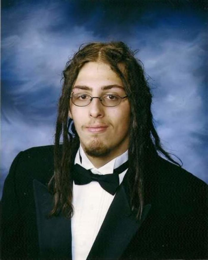 For My 30th Birthday, Figured I'd Share My Senior Photo. Class Of 05 Represent!