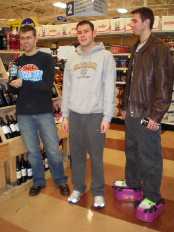 That Time I Wore Moon Shoes Into Meijer
