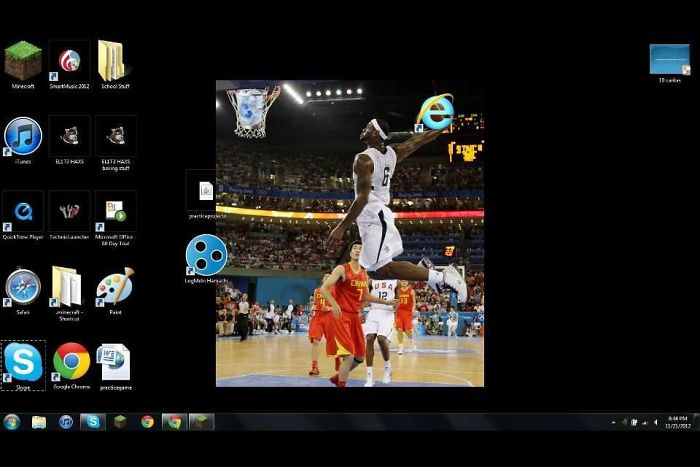 I Couldn't Possibly Be More Proud Of My Son's Desktop Background