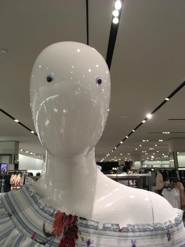 Found On A Mannequin At Zara