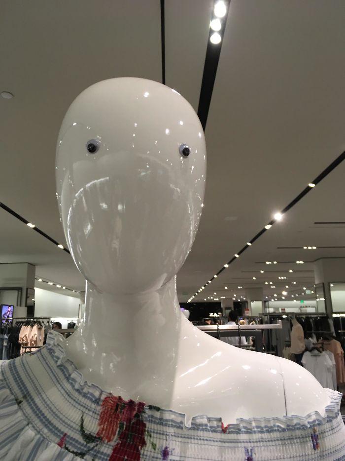 Encontrado en un Zara