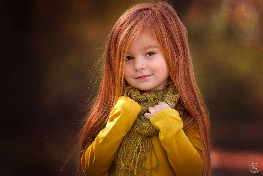 I Found The Most Beautiful 4 Year Old Redhead