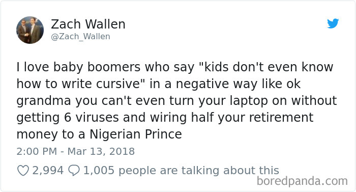 81 Times Millennials Got So Tired Of Baby Boomers They Just Had To
