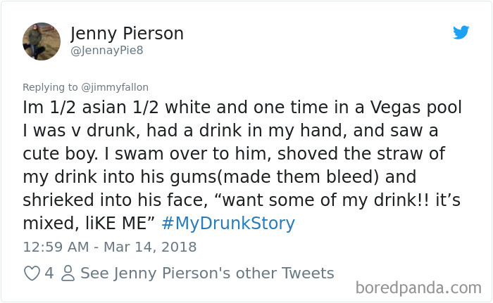 My Drunk Story