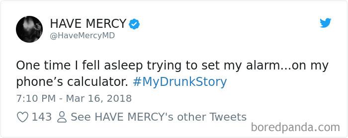 My Drunk Story
