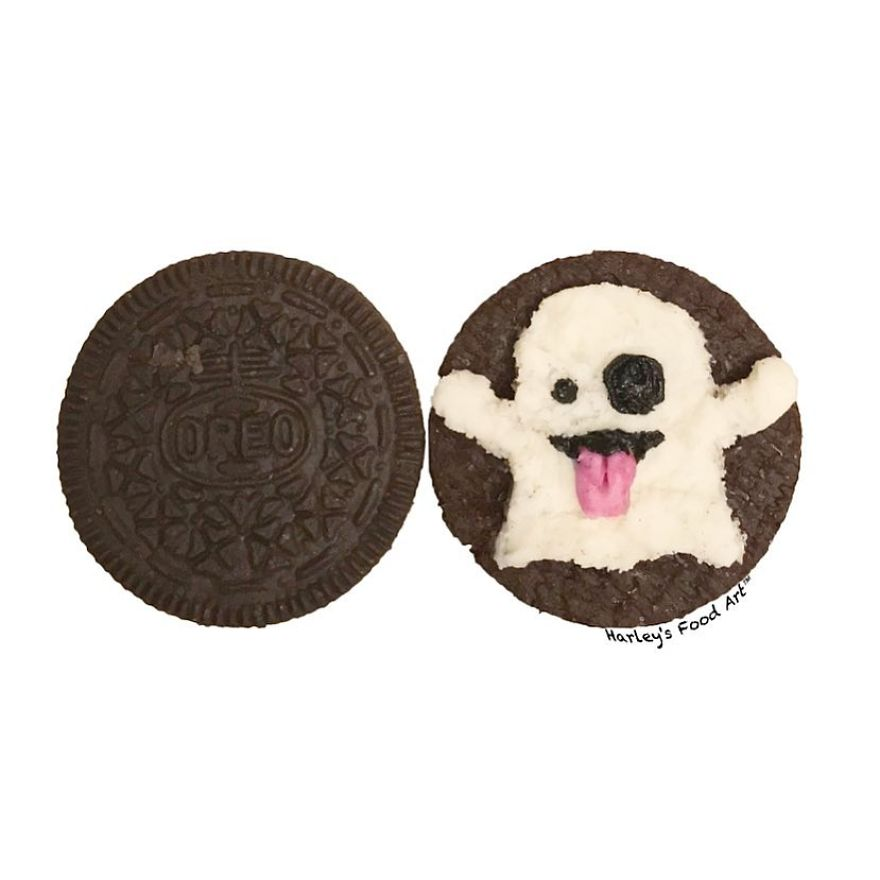 """Artist Makes Art With Oreo Wafer Fillings And The Result Is """"Delicious"""""""