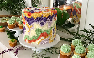 Designer Creates Colorful Cakes That Look Like Fun Carpets You Would Regret Stepping On