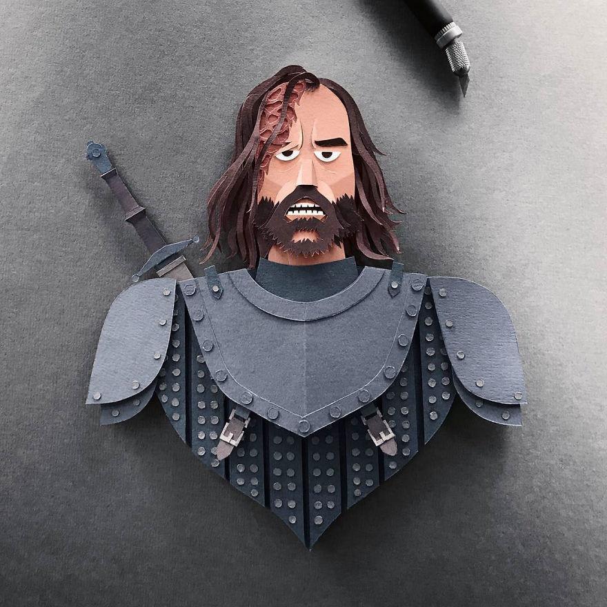 Ser Sandor 'The Hound' Clegane